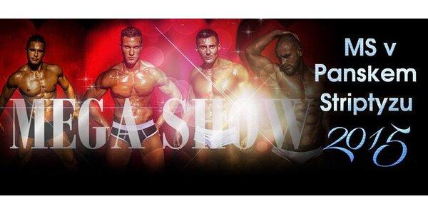 Vstupenka na show nejlepších striptérů světa