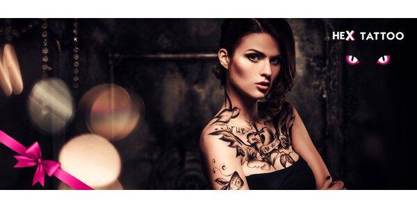 Tetování v motivech a velikostech dle vašeho přání