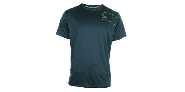 Pánské petrolejové sportovní tričko Puma