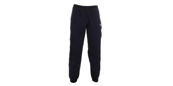 Pánské tmavě modré sportovní kalhoty Puma