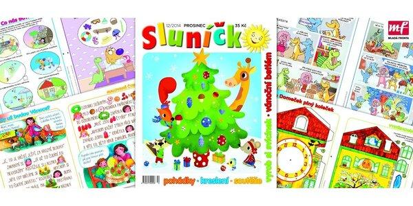 Časopis Sluníčko každý měsíc do vaší schránky