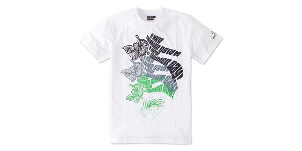 Pánská bílé tričko Brunotti s potiskem