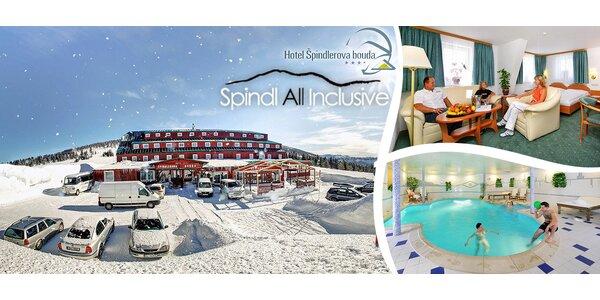 Luxusní all inclusive pobyty ve 4* hotelu Špindlerova bouda