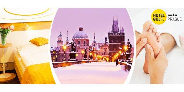 4* wellness hýčkání v Praze