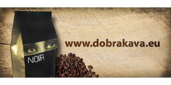 2 kg kvalitní zrnkové kávy Café NOIR