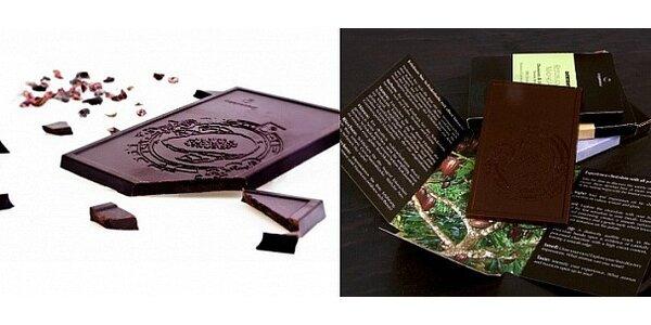 Kolekce luxusních čokolád Cru de Cao značky Coppeneur