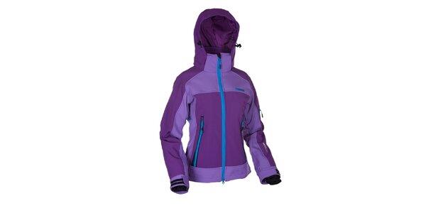 Dámská fialová softshellová bunda Envy