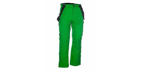 Pánské zelené lyžařské kalhoty Envy