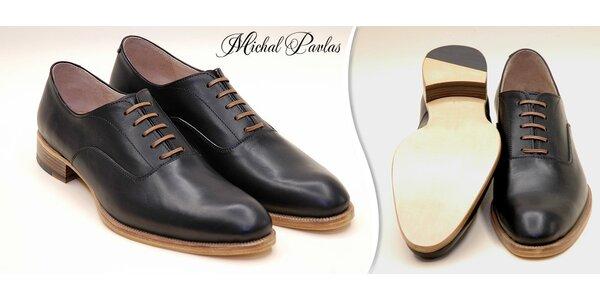 Luxusní pánská obuv ušitá na míru