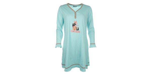 Dámská noční košile s kočičkami Body International