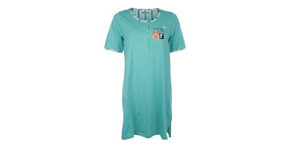 Dámská noční košile s barevnými kočičkami Body International
