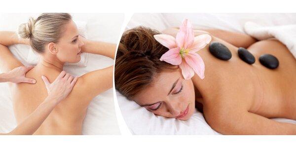 Hřejivá relaxační masáž - 60minut