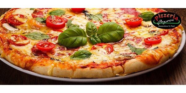 Vynikající pizzy z nabídky Pizzerie Paganini