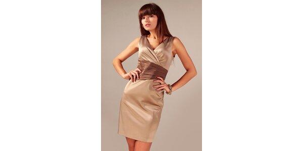 Dámské šaty se sklady v pase Vera Fashion