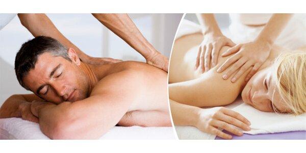 Hodinová relaxační masáž ve Frýdku-Místku