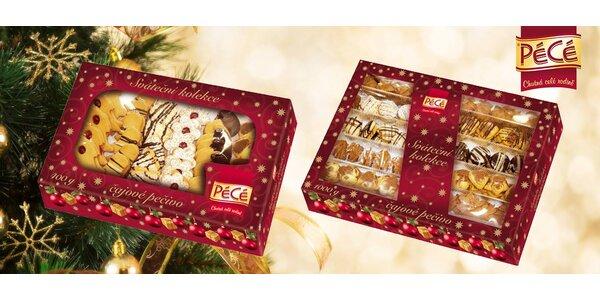 400 nebo 1000 g tradičního vánočního cukroví
