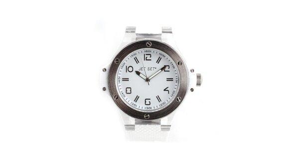 Dámské bílé hodinky Jet Set