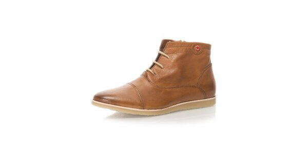 Pánské hnědé kotníkové boty Nobrand