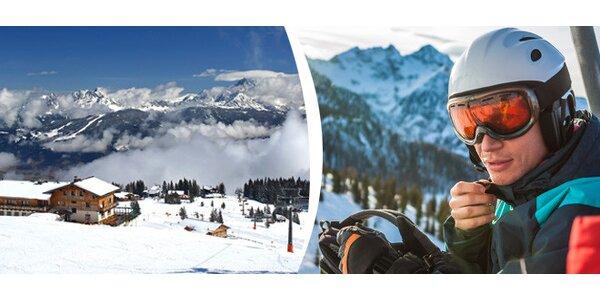 Pronájem apartmánů 85m2 nebo 47m2 v rakouských Alpách - Flachau
