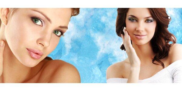 Kouzelné kosmetické ošetření přírodními kosmetikou a přístrojem dle výběru