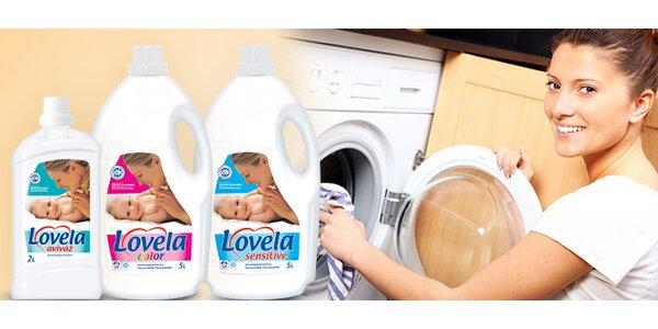 Lovela Sensitive 5L+Lovela Color 5L+Lovela aviváž 2L