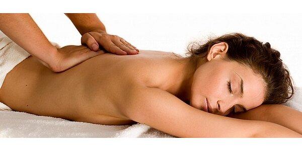 90 minutová relaxační masáž