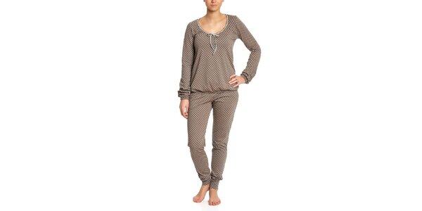 Dámské vzorované pyžamo Vive Maria
