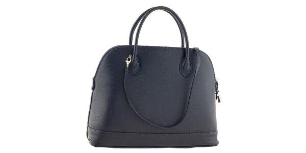 Dámská modrá kožená kabelka Ore 10