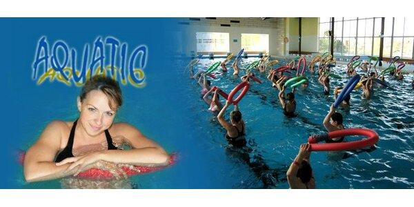 299 Kč za permanentku na 5 vstupů na aqua aerobic v hodnotě 750 Kč!