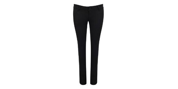 Dámské černé kalhoty Giorgio Di Mare