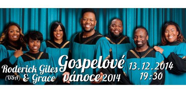 Vstupenka na koncert Gospelové Vánoce 2014