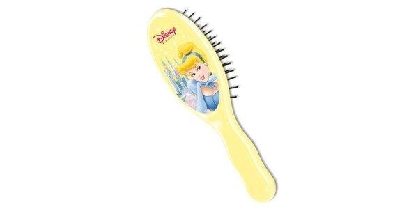 Dětský kartáč na vlasy Popelka