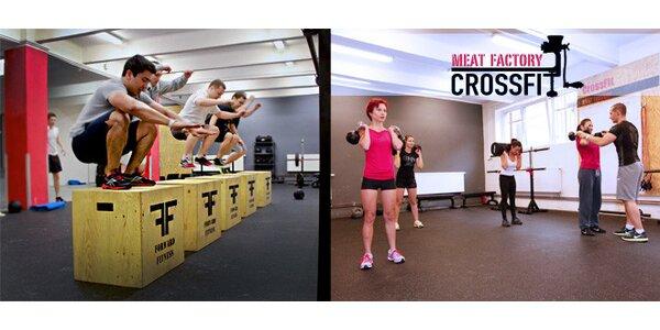 5 vstupů do CrossFit Meat Factory + originální triko!