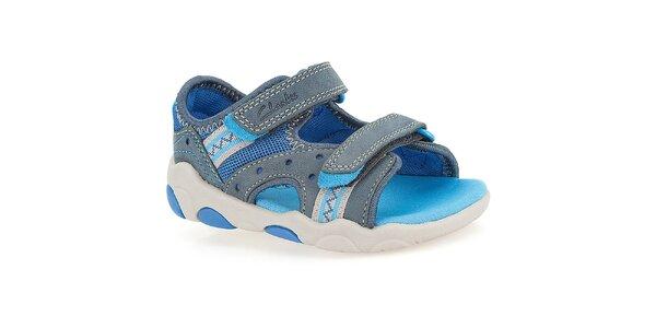 Dětské modré sandály Clarks