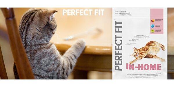Granule Perfect Fit pro každou kočičí osobnost (5× 750 g)