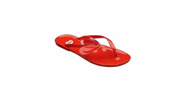 Červené žabky Mel