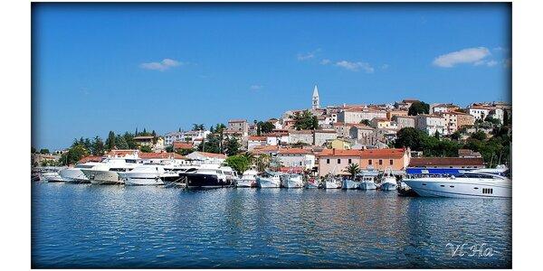 Víkendové koupání v Chorvatsku na Istrii včetně návštěvy středověké perly…