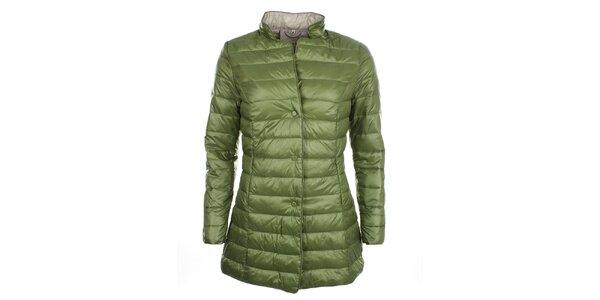 Dámský zelený kabátek na druky DJ85°C
