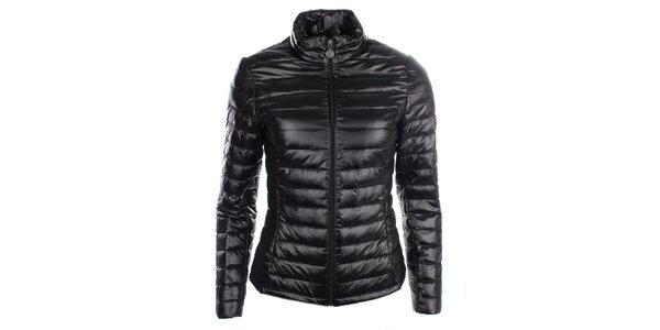 Dámská černá péřová bunda LWJ Collection