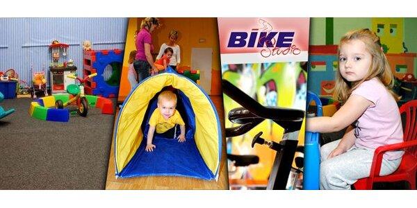 150 Kč za pět lekcí cvičení dětí nebo rodičů s dětmi (1 až 7 let)