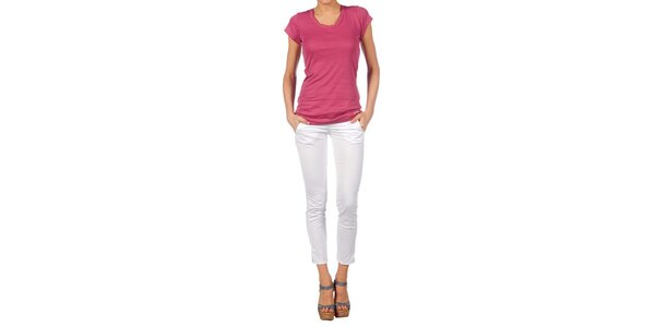 Dámské tmavě růžové tričko Nolita