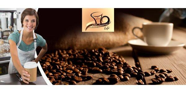 Až 10 šálků lahodné kávy s sebou z Café Mapami
