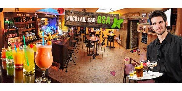 2 nebo 10 drinků v oblíbeném baru Osa