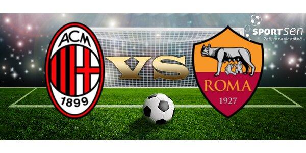 Zájezd na zápas AC Milán vs. AS Řím