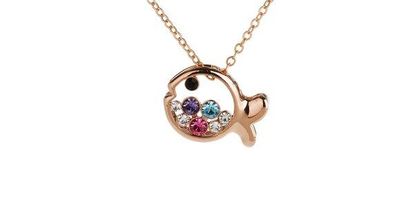 Dámský náhrdelník s rybičkou Fifi Ange