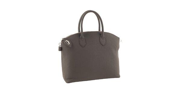 Dámská šedá elegantní kabelka Valentina Italy