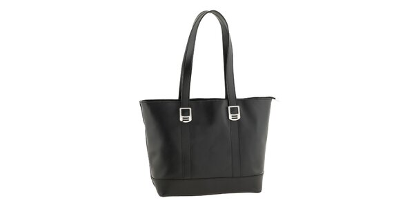 Dámská černá taška Valentina Italy