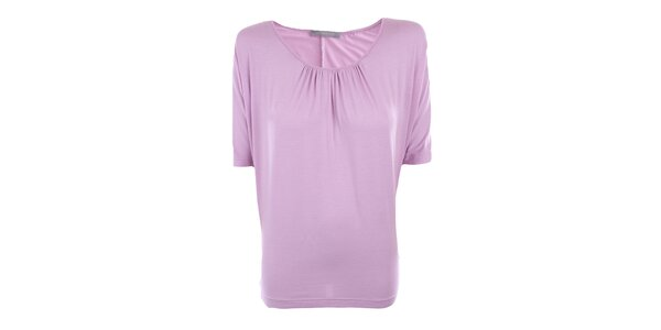 Dámské lila triko s netopýřími rukávy Pietro Filipi