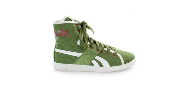 Dámské zelené kotníkové boty Reebok
