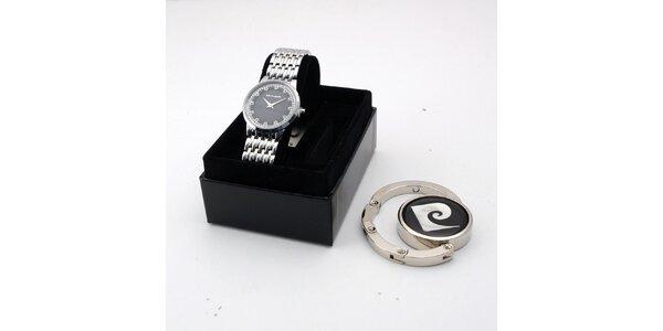 Dámské ocelové hodinky Pierre Cardin s dárkem